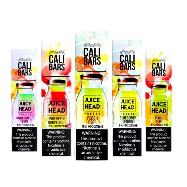 Juice Head Cali Bars Disposable Device
